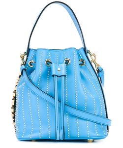 Moschino   Bucket Tote Leather/Metal Other