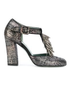 PAOLA D'ARCANO | Embellished Bar Pumps Women