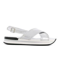 Hogan | Criss Cross Sandals Size 35.5