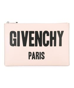 Givenchy | Logo Printed Pouch Calf Leather