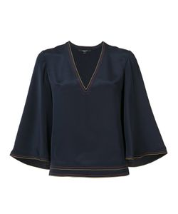 Derek Lam | Flared Three-Quarters Sleeves Blouse
