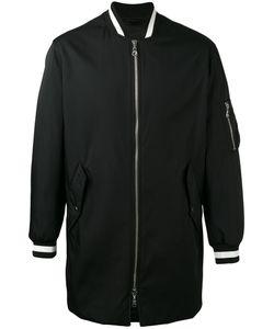Kenzo | Long Tonal Logo Bomber Jacket Size Xl