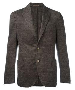 Eleventy   Texture Blazer Size 52 Cotton/Linen/Flax/Acetate/Polybutylene Terephthalate Pbt