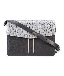 Hayward | H Crossbody Bag Calf Leather/Snake Skin/Calf Suede