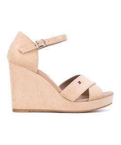 Tommy Hilfiger | Wedge Buckled Sandals