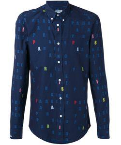 Kenzo | Рубашка С Принтом Букв