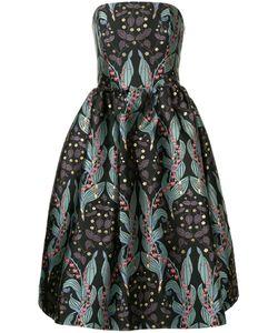 INGIE PARIS | Платье С Открытыми Плечами И Цветочным Принтом