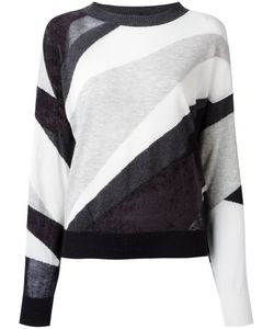 Diesel | Sheer Detail Jumper Medium Rayon/Nylon/Cotton/Cashmere