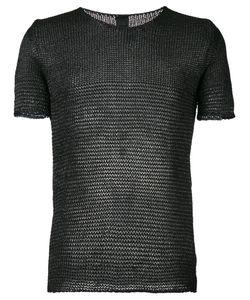 10Sei0Otto | Knit Round Neck T-Shirt