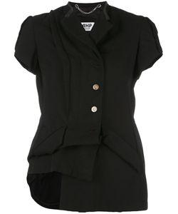 Pihakapi | Asymmetric Style Top Medium Polyester/Wool/Cupro