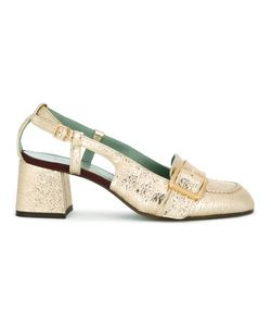 PAOLA D'ARCANO | Buckled Strap Pumps Size 38