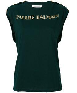 Pierre Balmain | Топ С Золотистым Логотипом