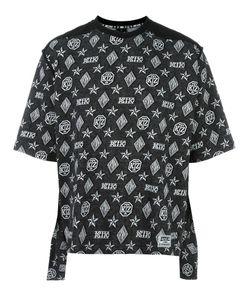 Ktz | Monogram Print T-Shirt Adult Unisex Xl Cotton