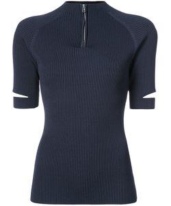 NOMIA | Zipped Collar Polo Shirt Women