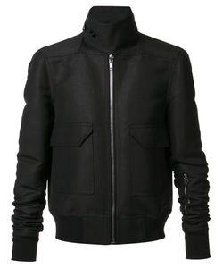 Rick Owens | Glitter Bomber Jacket 50 Cupro/Viscose/Cotton/Polyester