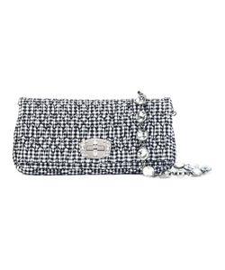 Miu Miu | Gingham Print Shoulder Bag