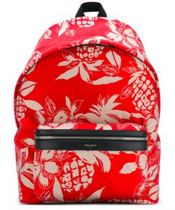Saint Laurent | Pineapple Print Backpack