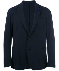 Lardini | Patch Pockets Blazer 54 Cotton