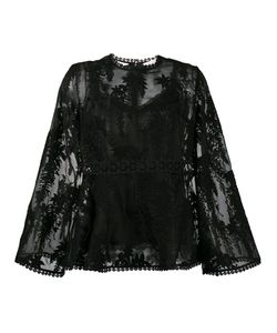 Zimmermann | Embroidered Sheer Blouse Women