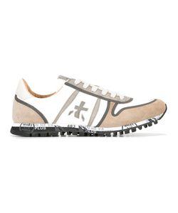 PREMIATA WHITE | Simon Sneakers 45 Cotton/Suede/Leather/Nylon