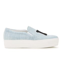 Joshua Sanders | La Denim Slip-On Sneakers
