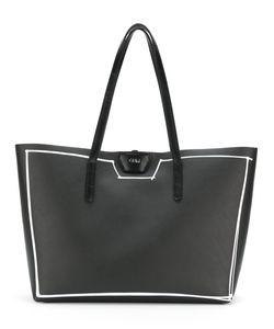 GUM | Structured Drawn Border Tote Bag Women