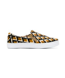 Manolita | Leather Slip-On Sneakers