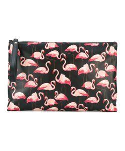 Red Valentino | Flamingo Print Clutch