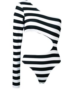 Marios | Striped One-Sleeve Body M