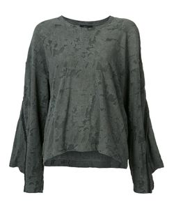 Lost & Found Ria Dunn | Flared Sweatshirt Size Large
