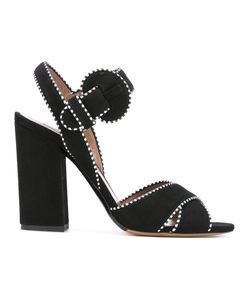 Tabitha Simmons | Contrast Stitch Sandals Size 38.5