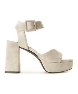 Senso | Imogen Sandals 41 Synthetic Resin/Pig Leather/Suede