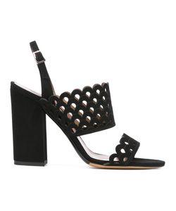 Tabitha Simmons | Scalloped Pattern Sandals