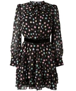 Marc Jacobs | Pastel Polka Dot Dress 6 Silk/Polyester