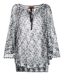 Missoni | Round Neck Shift Dress 44 Viscose