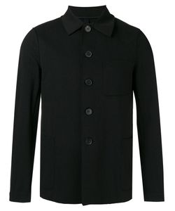 Harris Wharf London | Buttoned Jacket 46 Cotton