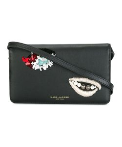 Marc Jacobs | Embellished Crossbody Bag Calf Leather