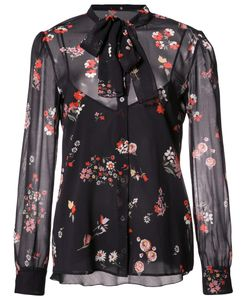 Red Valentino | Print Sheer Shirt 40 Silk/Spandex/Elastane