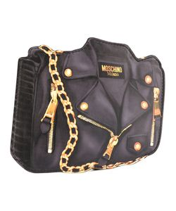 Moschino | Trompe Loeil Biker Clutch Bag