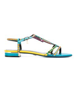 Loriblu | Geometric Embellished Sandals 41