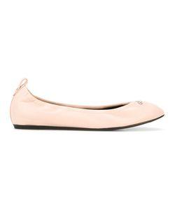 Lanvin | Classic Logo Plaque Ballerinas Size 37