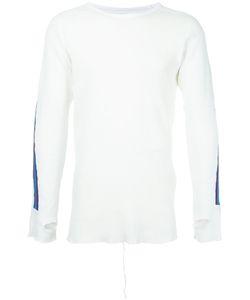 FACETASM   Stripe Detail Longsleeve Sweater