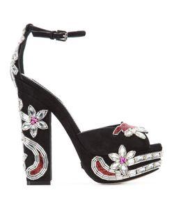Dsquared2 | Crystal-Embellished Sandals Size 41