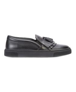 Louis Leeman | Fringed Slip-On Sneakers Size 39