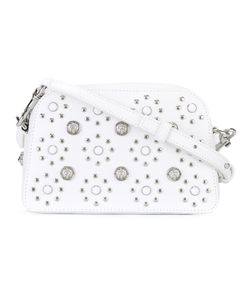 Versus | Flower Studded Crossbody Bag Calf Leather/Metal Other