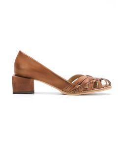 Manolita | Panelled Pumps Size