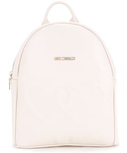Love Moschino   Double Hearts Backpack