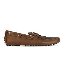 Carshoe | Car Shoe Stripe Fringed Loafers 9