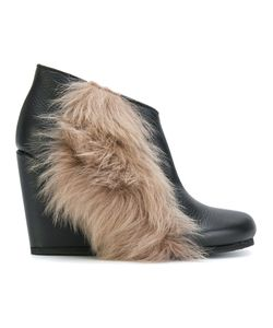 Peter Non | Fur Detail Wedged Boots Women