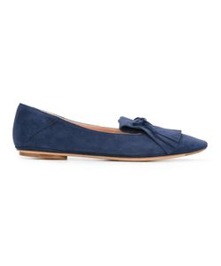 Unützer | Fringed Slippers 37.5 Leather/Suede